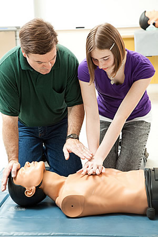 Standard First Aid With AED & Adult CPR